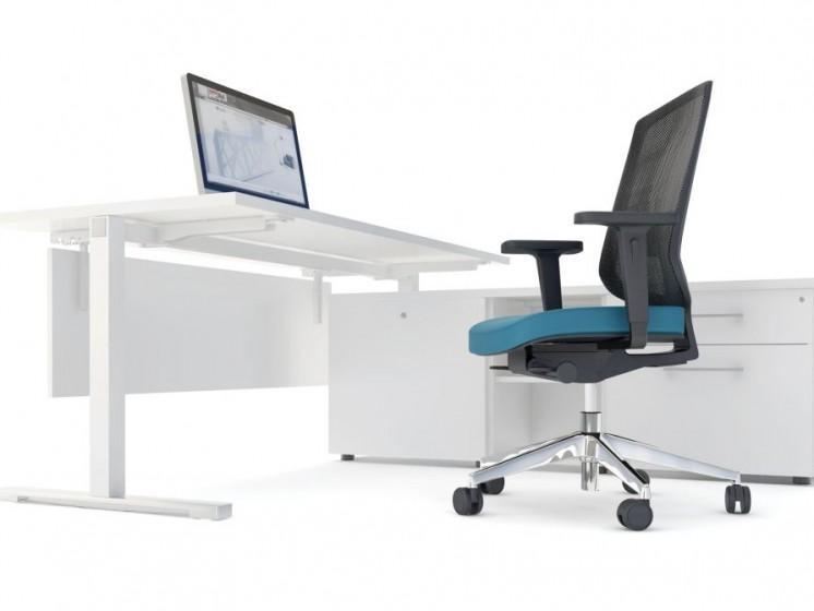 Schreibtisch mit Managerschrank