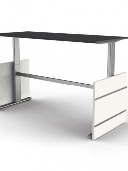 schreibtisch elektrisch h henverstellbar neapel b rom bel. Black Bedroom Furniture Sets. Home Design Ideas