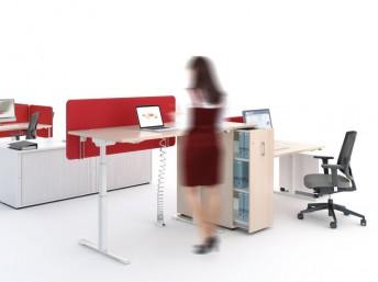 Schreibtisch elektrisch höhenverstellbar DRIVE