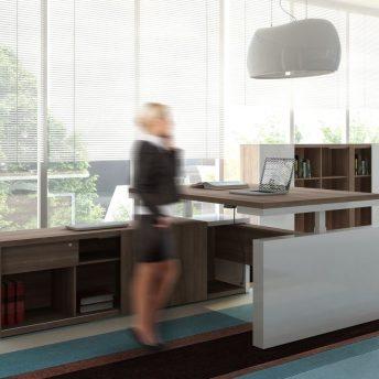 Schreibtisch elektrisch höhenverstellbar FARO