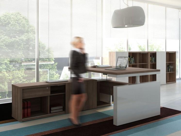 Schreibtisch elektrisch höhenverstellbar