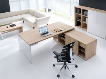 Schreibtisch mit Sideboard FARO