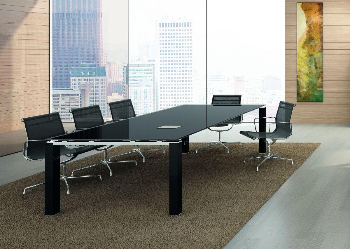 8 Personen Konferenztisch JET EVO Glas | Klassiker Direkt ...