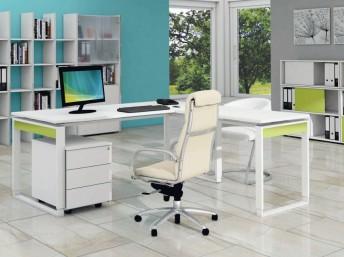 Winkel- Schreibtisch Springs