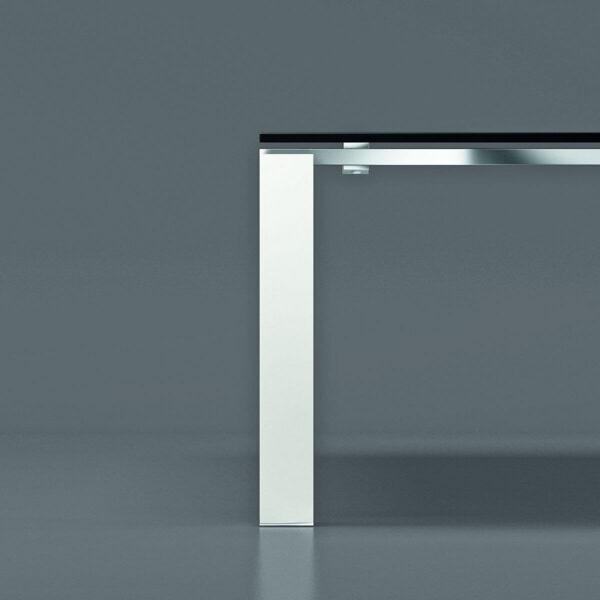 Gestell-Acryl-Weiss