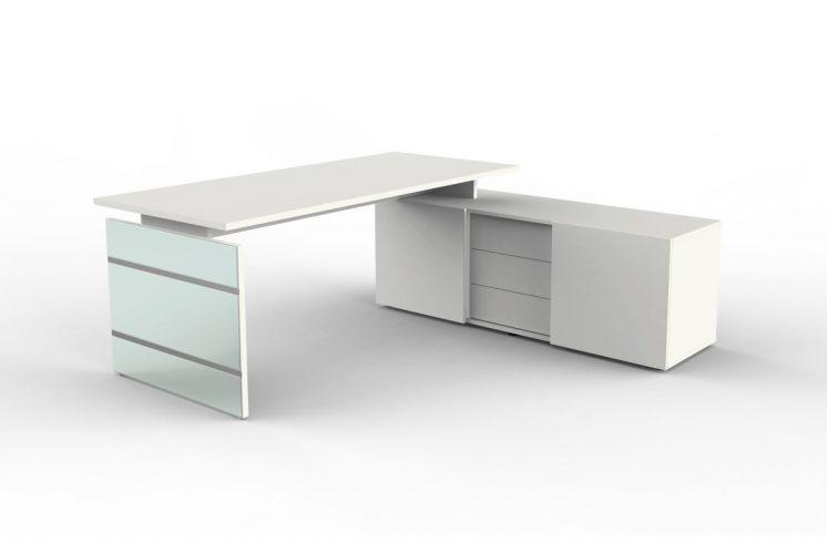 schreibtisch mit sideboard siena klassiker direkt. Black Bedroom Furniture Sets. Home Design Ideas