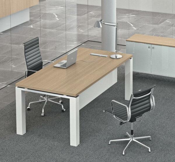 Schreibtisch-Jet-Evo-Tischplatte-Eiche