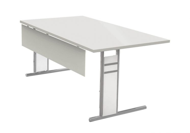 Schreibtisch-Neapel-C-Fuss-Gestell-mit-Knieraumblende