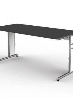 Schreibtisch-Neapel-anthrazit-C-Fuss-Gestell_2