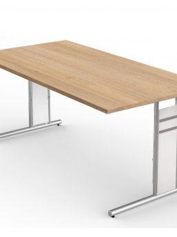 Schreibtisch-Neapel-eiche-C-Fuss-Gestell_2