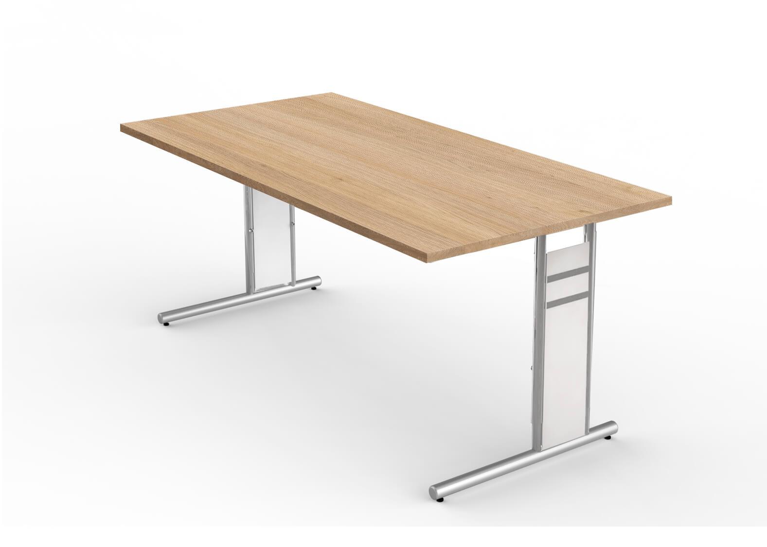 Schreibtisch neapel b rom bel for Schreibtisch gestell
