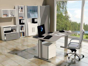 Freiform Schreibtisch Neapel
