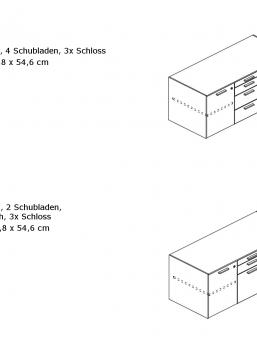 Sideboard-JET EVO-klein-Ausführung