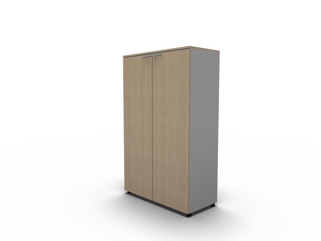 Büroschrank mit Türen – Schrankelement – H.160 | Klassiker Direkt ...