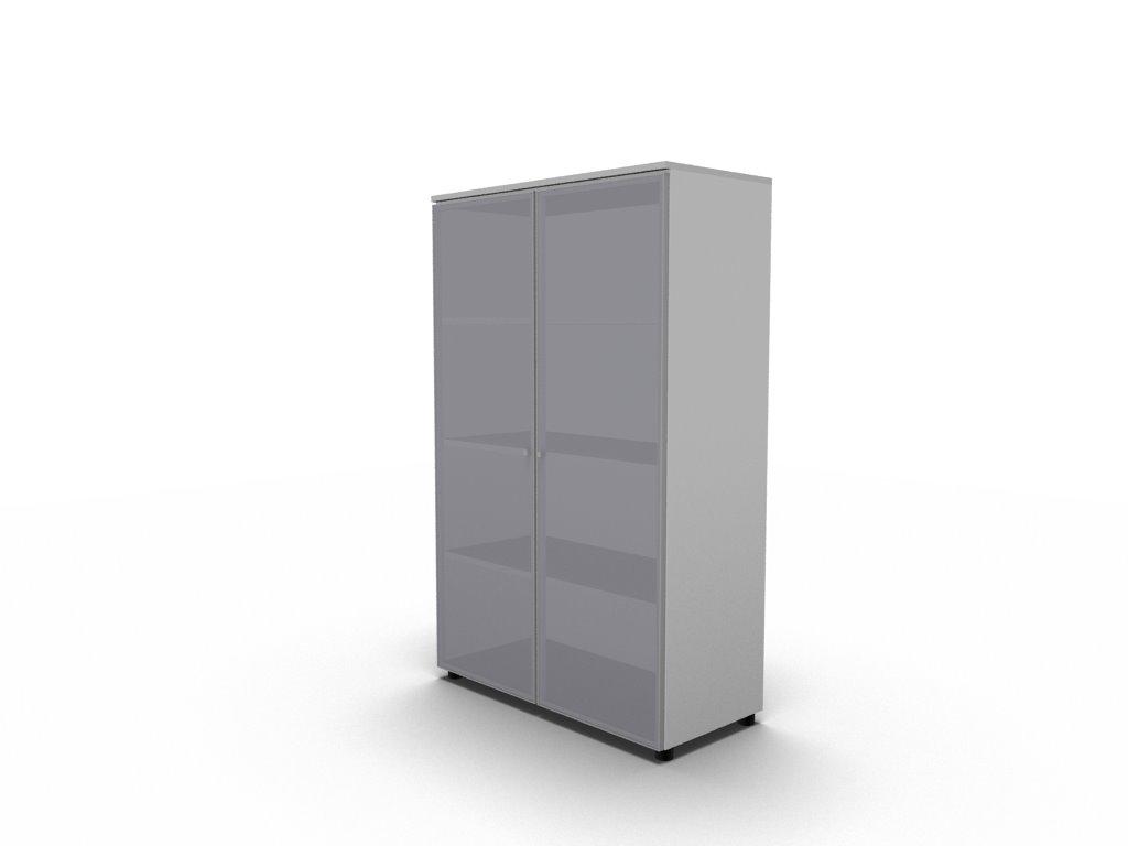 b roregal mit glast ren bralco b rom bel. Black Bedroom Furniture Sets. Home Design Ideas