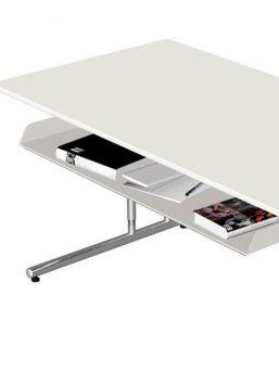 EDV-Schreibtisch-Sevilla mit -Ablagefach