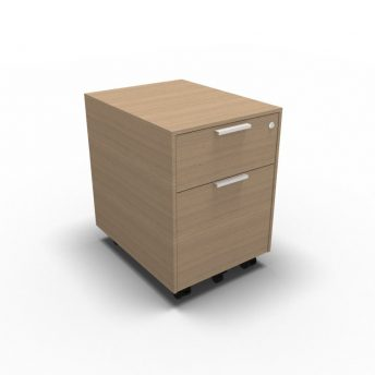 Rollcontainer mit Hängeregister