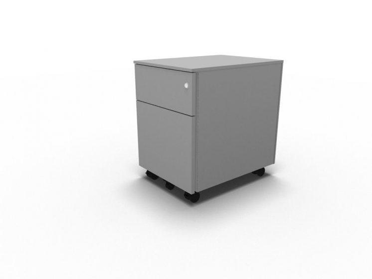 Container mit Hängeregistratur