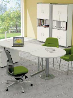 Büromöbel weiss