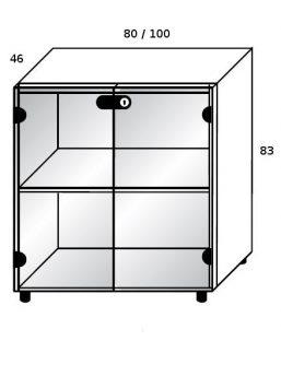 schrankelement bralco b rom bel. Black Bedroom Furniture Sets. Home Design Ideas