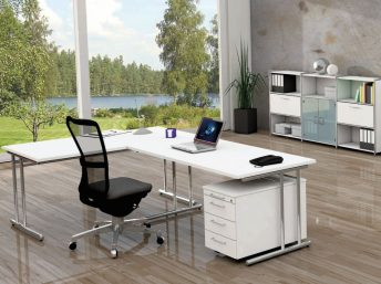 Winkel- Schreibtisch Sevilla