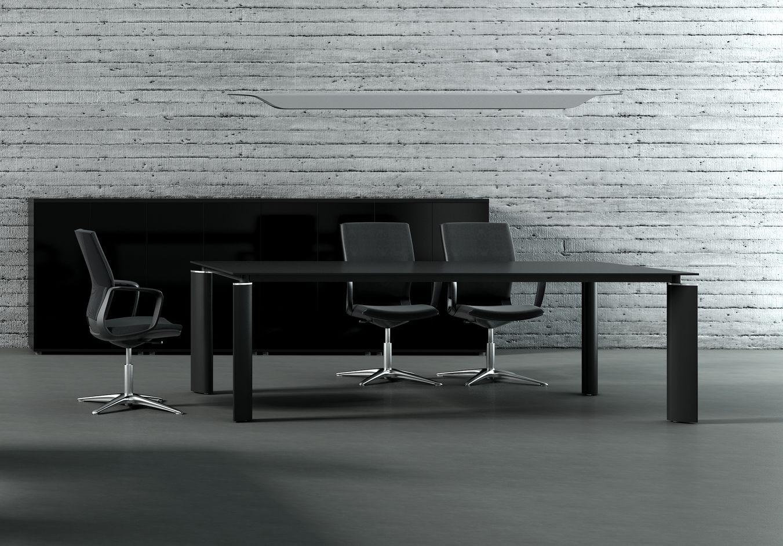 Design konferenztisch ancona glas klassiker direkt for Konferenztisch design