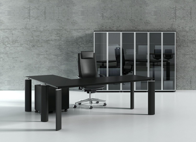 Design Winkel- Schreibtisch Ancona | Klassiker Direkt - Chefzimmer ...