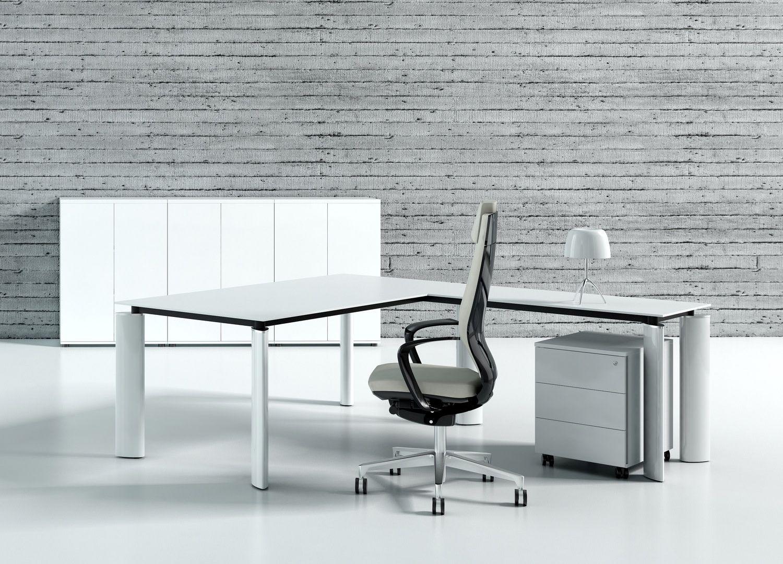 design winkel schreibtisch ancona klassiker direkt. Black Bedroom Furniture Sets. Home Design Ideas