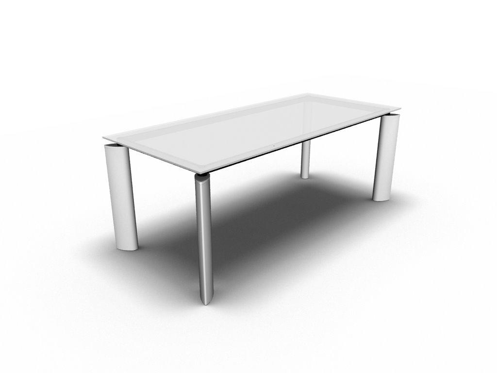 design glas schreibtisch ancona b rom bel. Black Bedroom Furniture Sets. Home Design Ideas