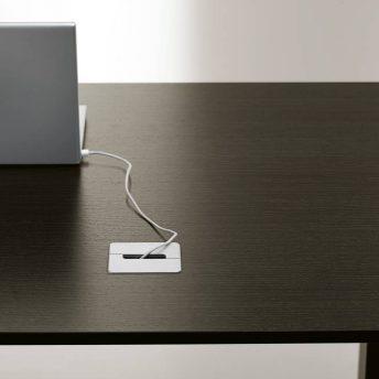 Kabeldurchlass für Schreibtische Bralco