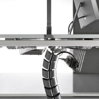Kabelkorb für Schreibtische Bralco