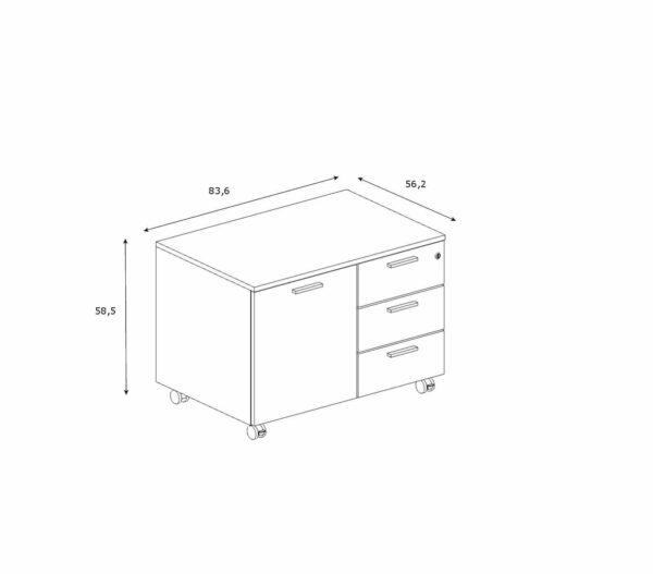Multifunktionscontainer-Abmessungen