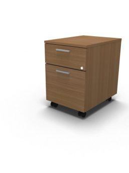 Bürocontainer auf Lenkrollen