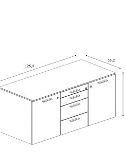 Sideboard-Bralco-Lowboard-Abmessung