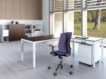 Winkel- Schreibtisch Bari