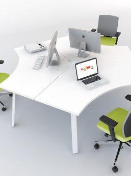 Schreibtisch 3 Personen
