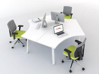 Schreibtisch für 3 Personen OGI_A