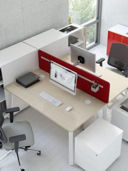Eckschreibtisch für 2 personen  Schreibtisch für 2 Personen OGI_A | Klassiker Direkt - Chefzimmer ...