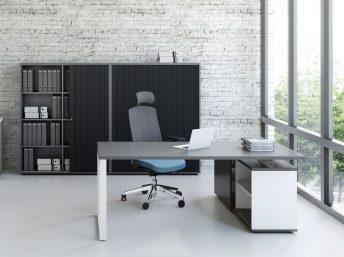 Schreibtisch mit Managerschrank OGI_Q