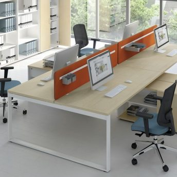 Schreibtisch für 2 Personen