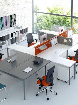 schreibtisch f r 2 personen ogi y chefzimmer b rom bel design b roeinrichtung. Black Bedroom Furniture Sets. Home Design Ideas