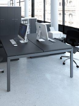 Schreibtisch mit Sideboards für 2 Personen OGI_U