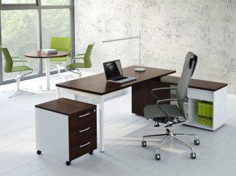Schreibtisch mit Managerschrank OGI_Y