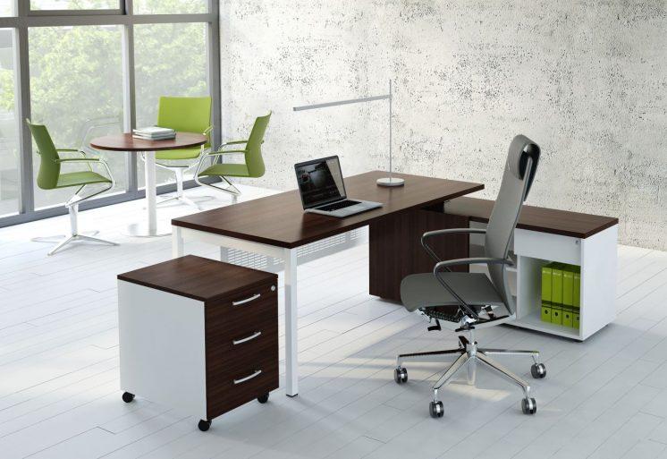 Schreibtisch mit Sideboard OGI_Y