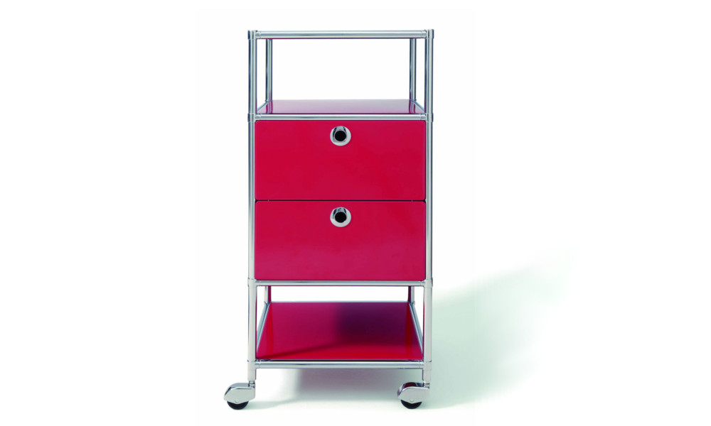 40,40 x 86,20 x 40,40 cm Rollcontainer System4 von Viasit Farbe wählbar