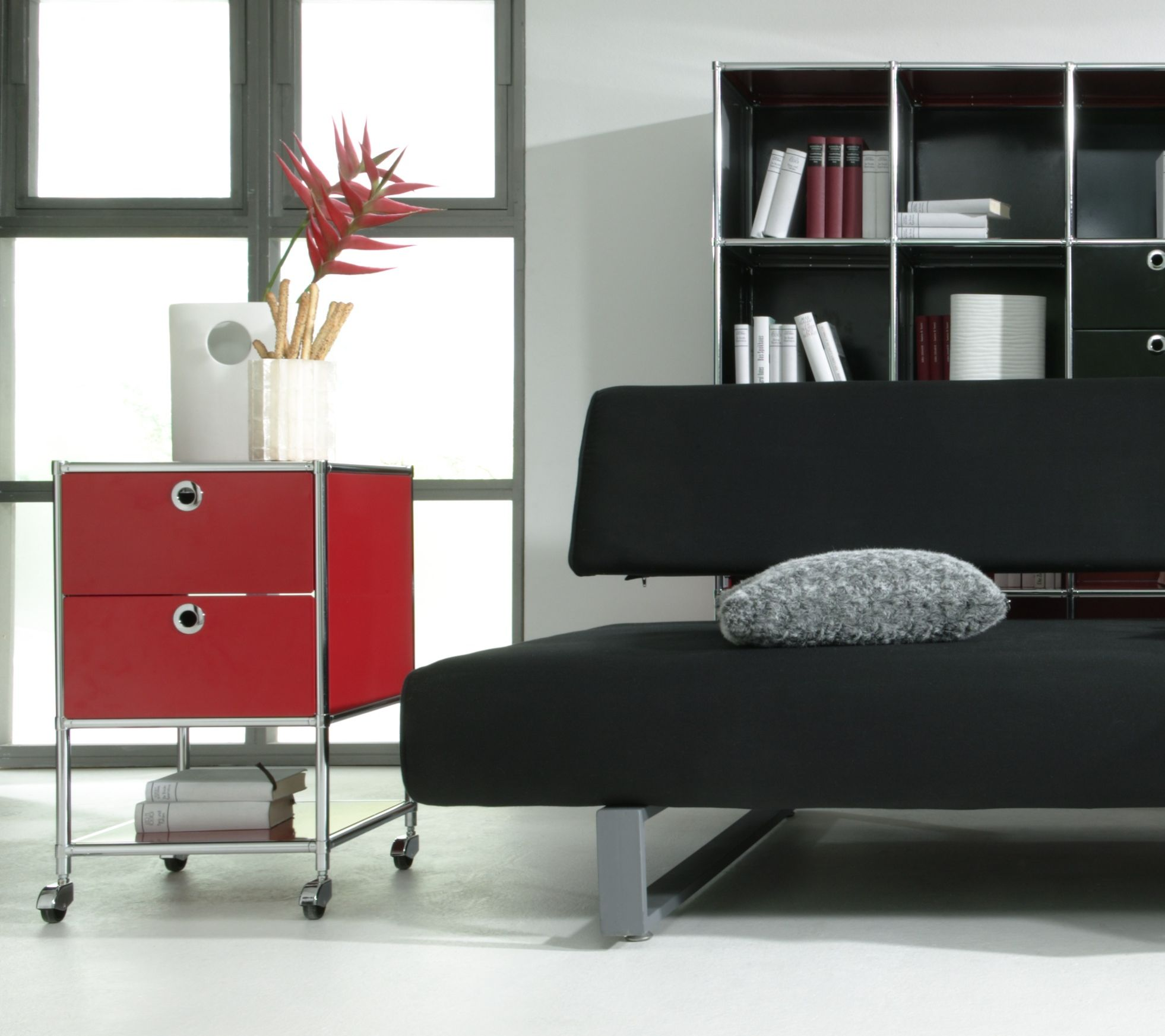 rollcontainer system4 chefzimmer b rom bel b roeinrichtung. Black Bedroom Furniture Sets. Home Design Ideas