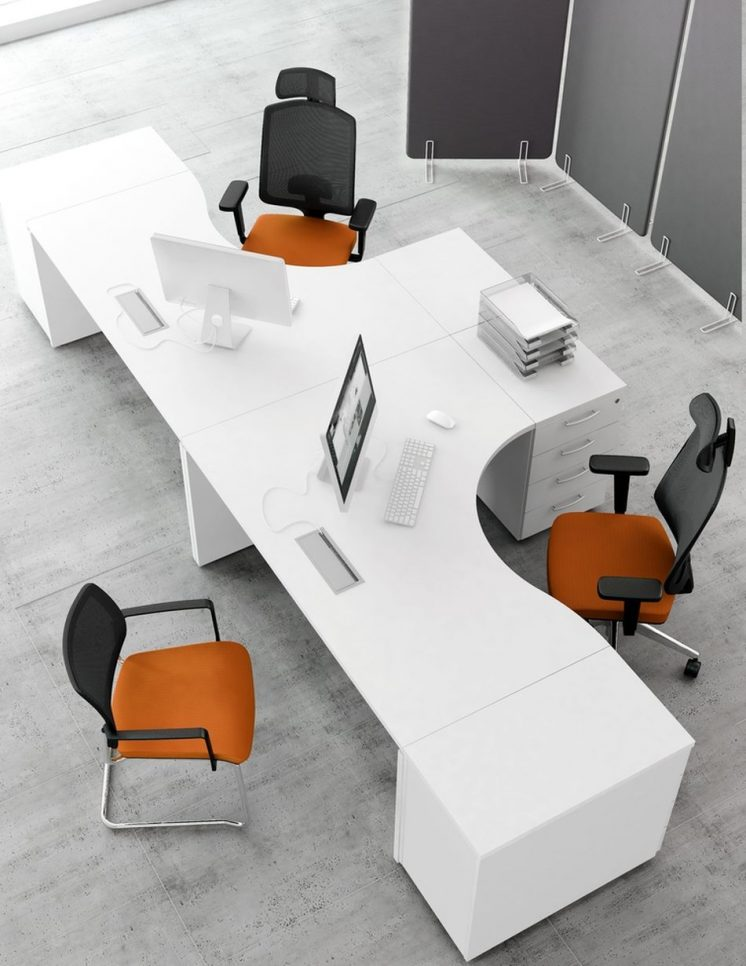 formschreibtisch ogi v b rom bel b roeinrichtung. Black Bedroom Furniture Sets. Home Design Ideas