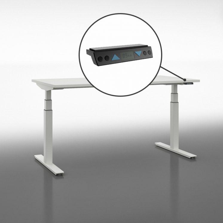 Druckknopf 4x Memory mit LCD Display