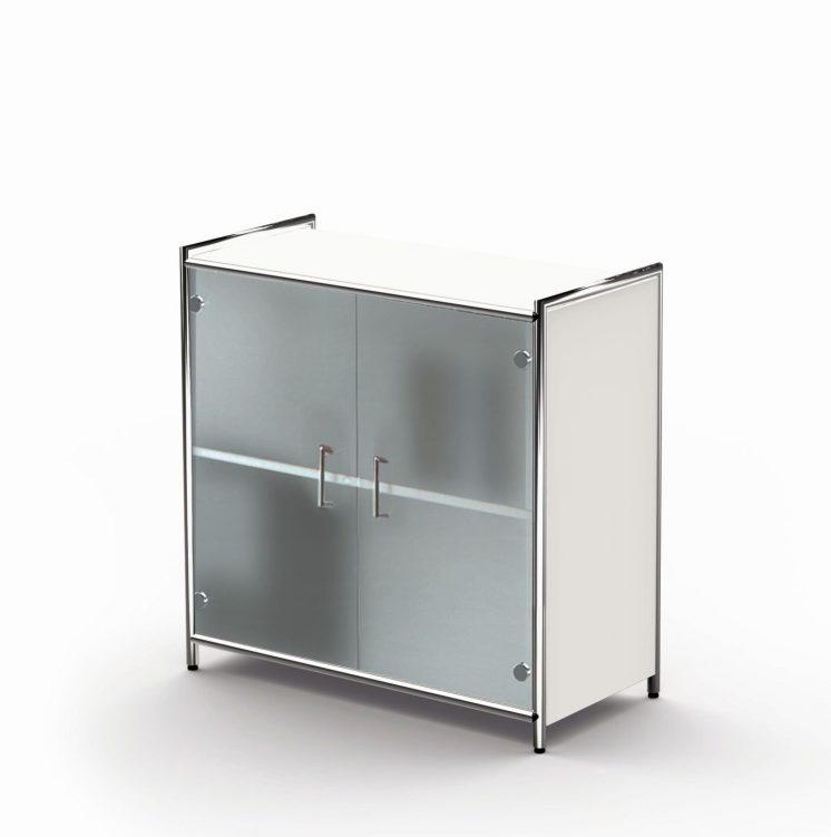 Sideboard mit Glastür