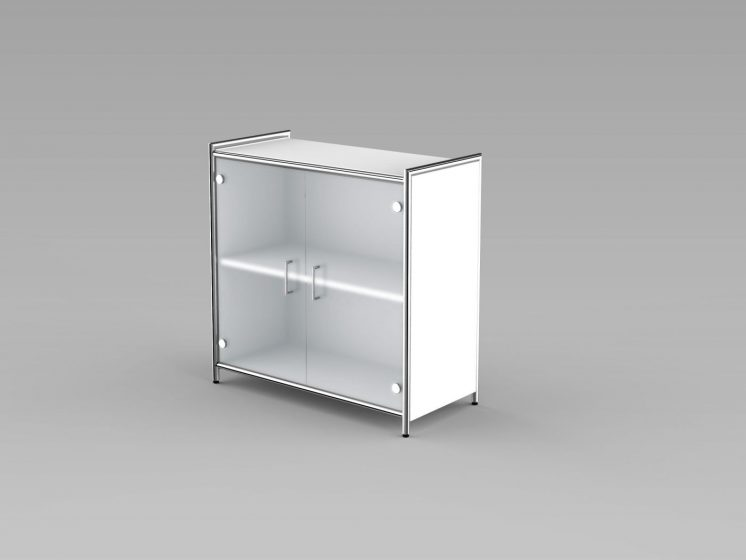 Sideboard_Glas_2OH_weiss
